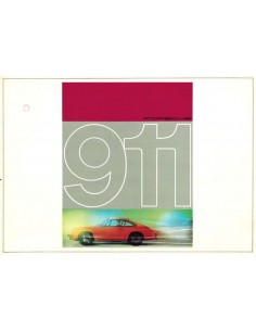 1965 PORSCHE 911 PROSPEKT ENGLISCH