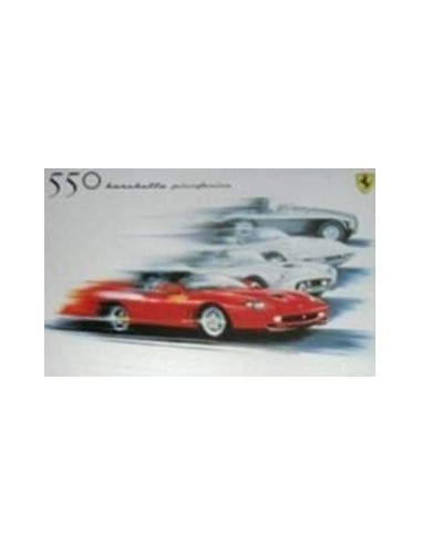 2000 FERRARI 550 BARCHETTA PININFARINA SALES POSTER 1617/00