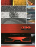 2007 FERRARI 430 SCUDERIA PRESS BROCHURE PERS BROCHURE 3079/07