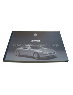 2000 MASERATI 3200 GT OWNER'S MANUAL SPANISH