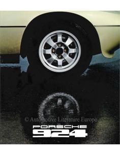 1978 PORSCHE 924 BROCHURE GERMAN