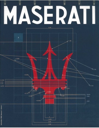 1998 MASERATI RIVISTA MAGAZINE 1
