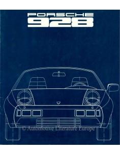 1977 PORSCHE 928 BROCHURE DUITS