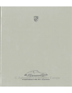 1986 PORSCHE 911 CARRERA BROCHURE GERMAN