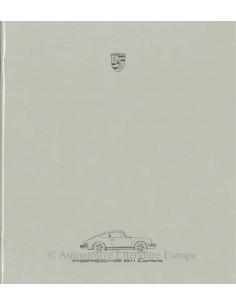 1986 PORSCHE 911 CARRERA PROSPEKT DEUTSCH