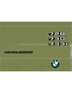 1977 BMW 7ER BETRIEBSANLEITUNG NIEDERLÄNDISCH