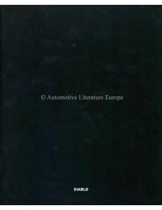 1999 LAMBORGHINI DIABLO BROCHURE ITALIAN / ENGLISH