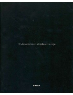 1999 LAMBORGHINI DIABLO PROSPEKT ITALIENISCH / ENGLISCH