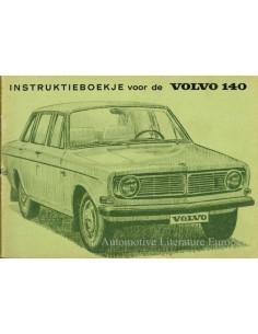 1970 VOLVO 140 OWNERS MANUAL HANDBOOK DUTCH