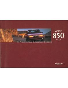 1996 VOLVO 850 BETRIEBSANLEITUNG NIEDERLÄNDISCH