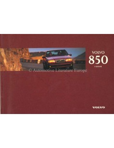 1996 VOLVO 850 OWNERS MANUAL DUTCH
