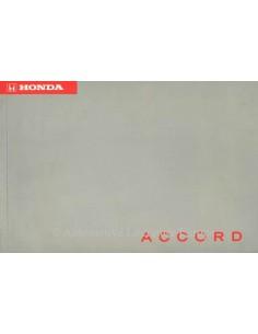 1996 HONDA ACCORD BETRIEBSANLEITUNG NIEDERLANDISCH