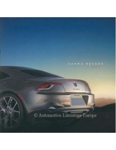 2016 FISKER KARMA REVERO BROCHURE ENGLISH
