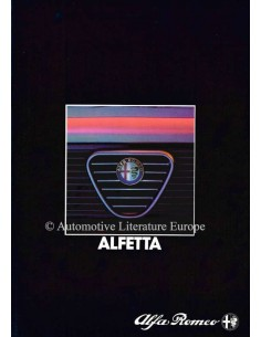 1983 ALFA ROMEO ALFETTA BROCHURE DUTCH