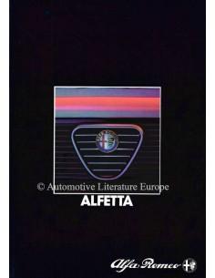 1983 ALFA ROMEO ALFETTA PROSPEKT NIEDERLÄNDISCH