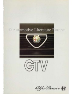 1985 ALFA ROMEO GTV & GTV6 BROCHURE DUTCH