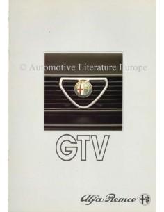 1985 ALFA ROMEO GTV & GTV6 PROSPEKT NIEDERLÄNDISCH