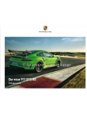 2018 PORSCHE 911 GT3 RS HARDBACK BROCHURE GERMAN