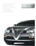 2003 ALFA ROMEO GT  BODY COLOURS AND UPHOLSTERY BROCHURE