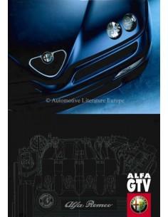 1999 ALFA ROMEO GTV BROCHURE NEDERLANDS