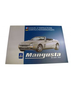 2000 QVALE MANGUSTA OWNERS MANUALS FRENCH GERMAN