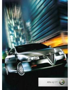 2004 ALFA ROMEO GT BROCHURE AUSTRALIAN