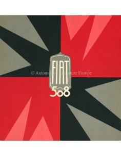 1933 FIAT 508 BROCHURE ITALIAANS