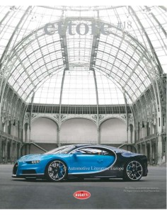 2017 THE OFFICIAL BUGATTI ETTORE MAGAZINE 18 ENGLISH