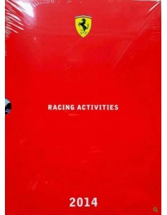 2014 FERRARI RACING ACTIVITIES JAHRBUCH ITALIENISCH / ENGLISCH