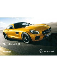 2015 MERCEDES BENZ AMG GT BROCHURE ENGLISH