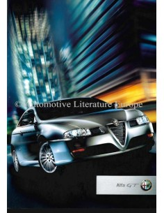 2003 ALFA ROMEO GT BROCHURE FRENCH