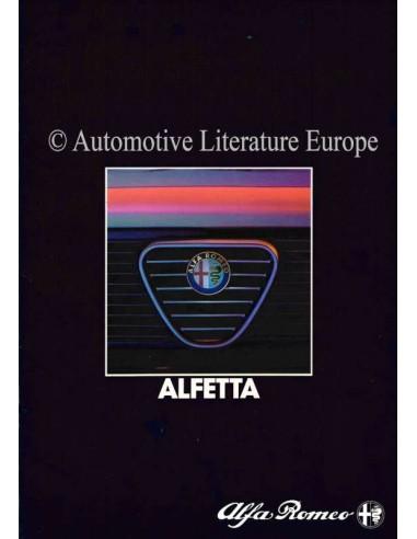 1984 ALFA ROMEO ALFETTA BROCHURE NEDERLANDS