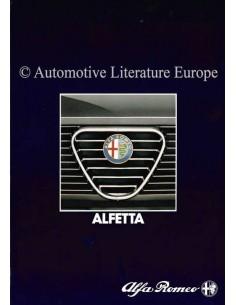 1983 ALFA ROMEO ALFETTA PROSPEKT DEUTSCH