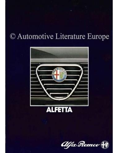 1983 ALFA ROMEO ALFETTA BROCHURE GERMAN