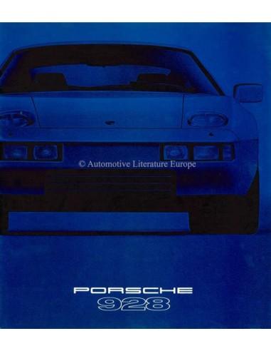 1979 PORSCHE 928 BROCHURE FRENCH