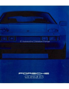 1979 PORSCHE 928 BROCHURE GERMAN