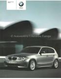 2005 BMW 1 SERIES OWNERS MANUAL DANISH