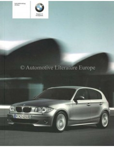 2005 BMW 1 SERIES OWNERS MANUAL DANISH