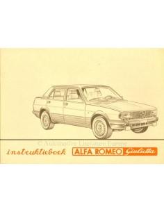 1983 ALFA ROMEO GIULIETTA OWNERS MANUAL DUTCH
