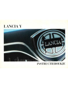 1997 LANCIA Y INSTRUCTIEBOEKJE NEDERLANDS