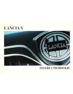 1997 LANCIA Y INSTRUCTIEBOEKJE NEDERLANDS