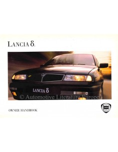 1993 LANCIA DELTA OWNERS MANUAL HANDBOOK ENGLISH