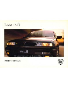 1994 LANCIA DELTA OWNERS MANUAL DUTCH