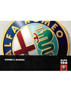 1997 ALFA ROMEO 156 BETRIEBSANLEITUNG ENGLISCH