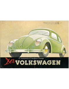 1950 VOLKSWAGEN BEETLE BROCHURE GERMAN