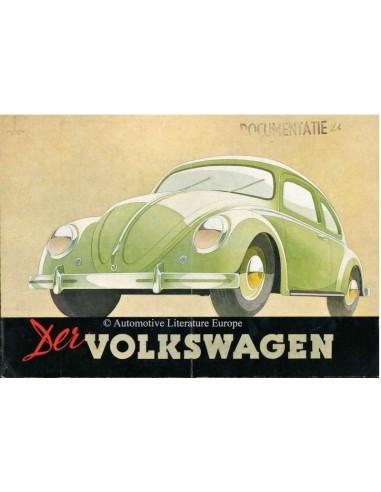 1950 VOLKSWAGEN BEETLE BROCHURE GERMAN