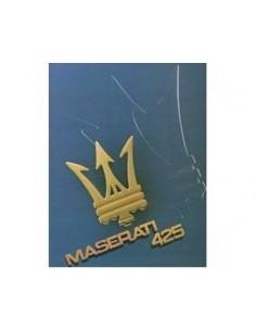 1985 MASERATI 425 BROCHURE FRENCH