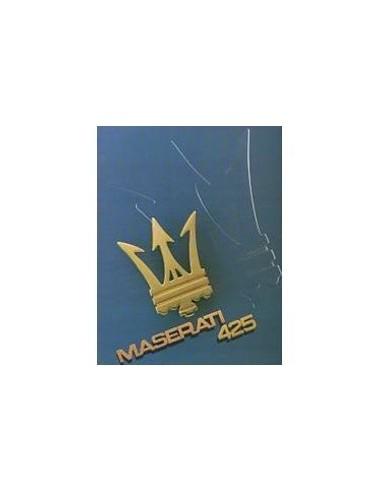 1985 MASERATI 425 BROCHURE FRANS