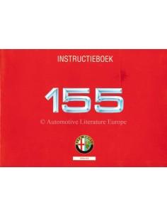 1992 ALFA ROMEO 155 INSTRUCTIEBOEKJE NEDERLANDS