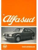 1973 ALFA ROMEO ALFASUD OWNERS MANUAL DUTCH